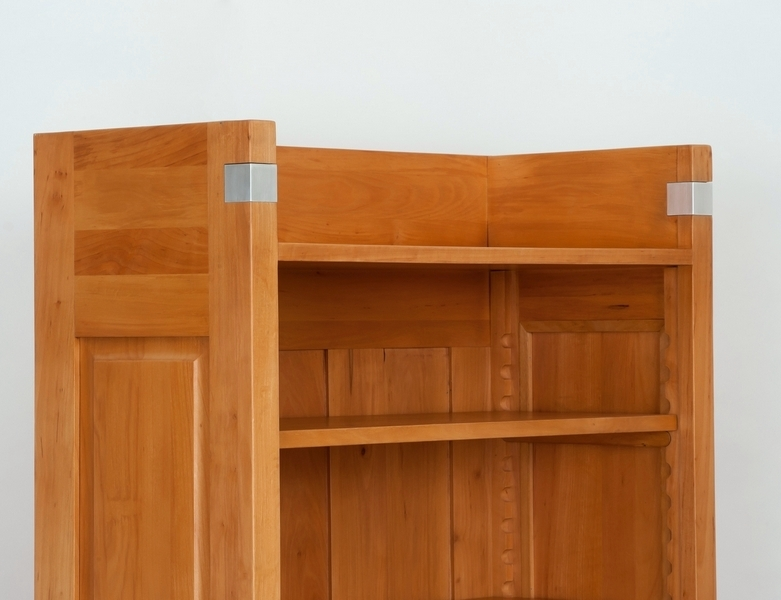 regal einsplus erle massivholz naturton 230x450x35cm ebay. Black Bedroom Furniture Sets. Home Design Ideas