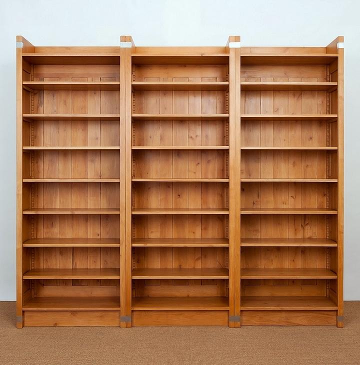 regal einsplus erle massiv naturton 215x240x35cm ebay. Black Bedroom Furniture Sets. Home Design Ideas