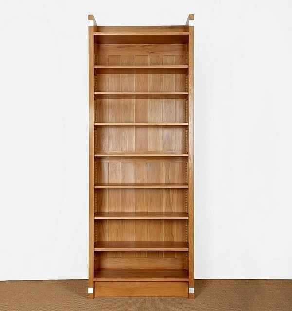 Bücherregal massiv Holz Eiche - Regal Modell Einsplus Regal Eiche ...